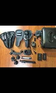 VIDEOGRAPHY EQUIPMENTS FOR SALE
