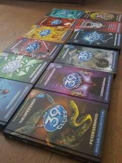 39 Clues Book and Cards