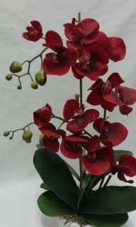 Orchid artificial arrangement