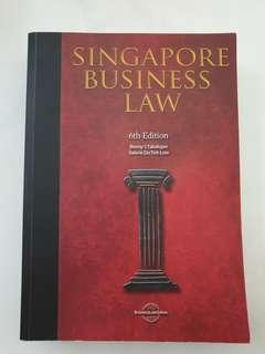 Singapore Business Law 6th Edition