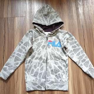 Fila Grey Hoodie Jacket