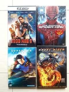 Original DVDs - Superhero Films
