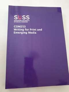 Writing for Print and Emerging Media