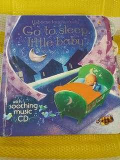 usborne touch feely:go to sleep little baby