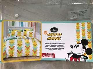Disney Mickey Single Fitted Bedsheet Set