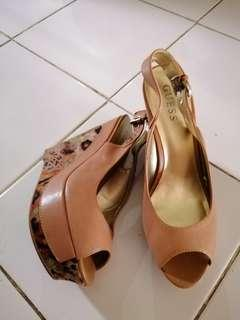 Guess Wedges Brown 39