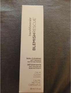 Bareminerals Blemish Rescue Skin clearing Anti Redness, Mattifying primer