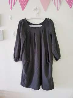 Black Blouse Dress (XXL)