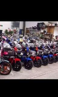 Electric bikes...
