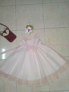 Dress kembang bayi