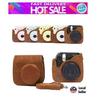 CAIUL Groovy PU Leather Camera Case Bag for Fujifilm Instax Mini 7s 8 8+ 9