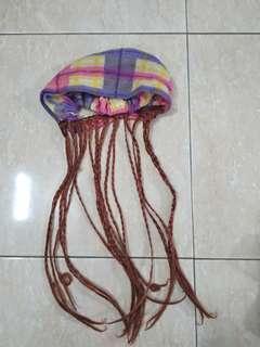 Topi wig anak anak