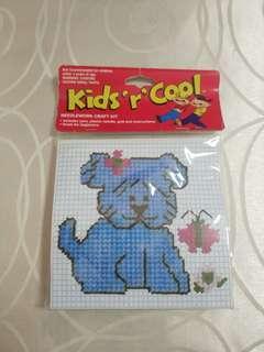 🚚 Puppy cross stitch needlework craft kit