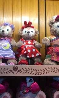 🚚 香港🇭🇰迪士尼樂園正品雪莉梅S號紫色睡衣