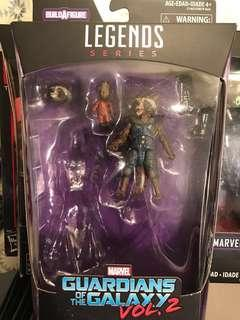 Marvel legends rocket raccoon groot infinity war galaxy