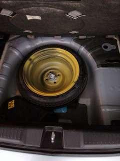 Original Honda Jazz Spare tyre