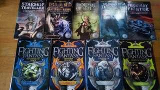 Fighting Fantasy Gamebooks