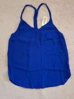 BNWT Forever 21 Blue Top