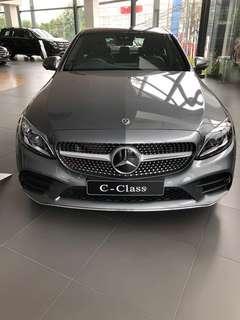 Mercedes benz C300 AMG LINE FACELIFT 2019