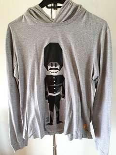 SKELLY Long shirt ada ponconya size M
