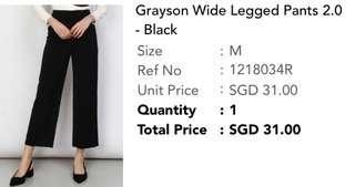 🚚 Wide leg pants