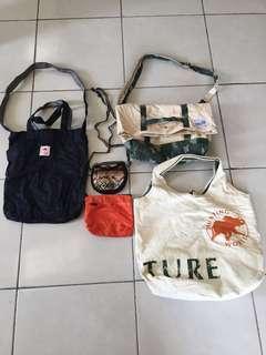 Combo bag Tote Sling Small pocket