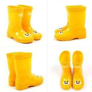 韓國直送🇰🇷Baby Shark🦈兒童PVC防水雨靴🌦