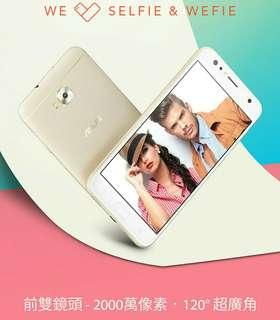 全新 高登捌伍Asus華碩zenfone 4 Selfie 5.5寸八核4+64GB 2000萬自拍 120度廣角 三咭三槽 港中5G 香港google play 繁中 一年保養 門市交收