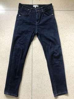 Mango Blue Denim Pants