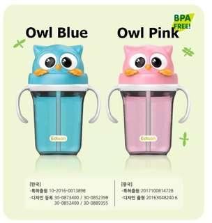 韓國直送🇰🇷立體防漏飲管水杯🥤