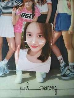 "SNSD YoonA ""So Wonderful Day in SG"" Fanmeet Photocard"