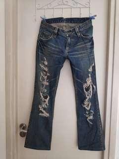 [清櫃] 時尚Jeans 可換可議