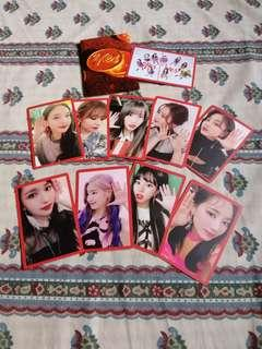 TWICE YES OR YES OFFICIAL PHOTOCARD SET