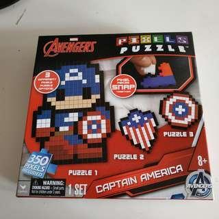 Avengers Puzzle 積木
