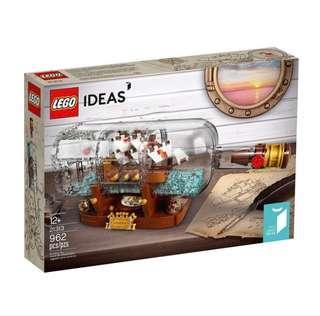 Lego Ideas Ship in a Bottle 21313