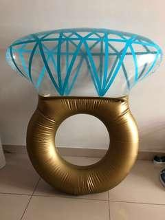 Diamond Ring inflatable floats 💍