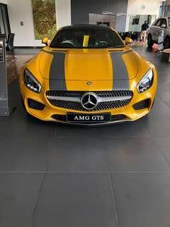 Mercedes benz AMG GTS Nik 2015