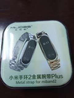 🚚 小米手環2金屬腕帶(黑色一只)