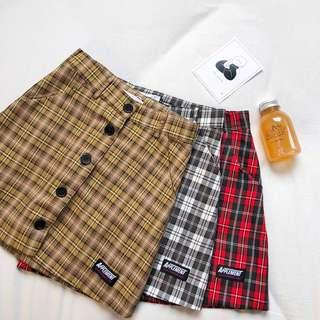 🚚 #2 Vintage Checkered Skirt