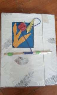 🚚 New handmade notebook made in Nepal