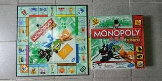正版兒童大富翁棋Junior Monopoly