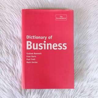 HARDBOUND Dictionary of Business (Repriced!)