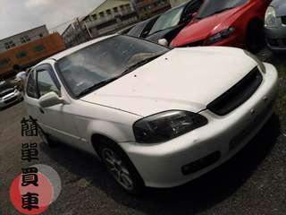 2000年 k8 白色 黑內裝1.6第一次貸款買車嗎?『只要你滿20歲,不用頭款有工作全額貸款』中古車 二手車