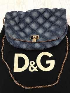 D&G Denim Shoulder Bag