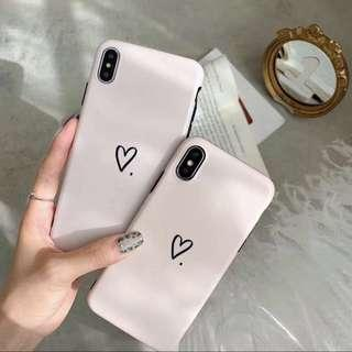 🚚 iphone heart phonecase