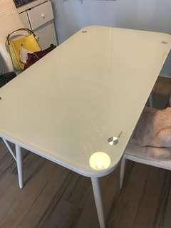 Dining Table 實惠 強化玻璃餐桌 餐枱