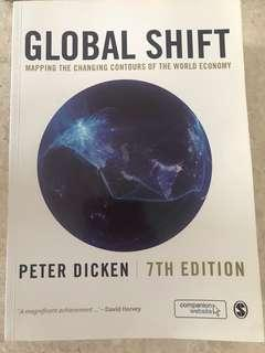 Global Shift by Peter Dicken. (7th Edition)