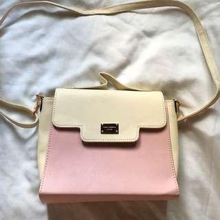 Korean Pink Shoulder Bag
