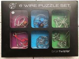 🚚 6 Wire Metal Puzzle Set