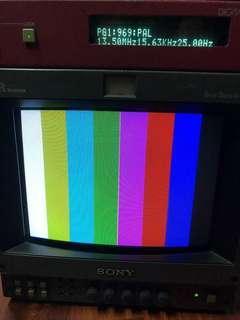 Sony HR Trinitron BVM 9044Q SDI component 色差 CRT 膽mon 懷舊遊戲用
